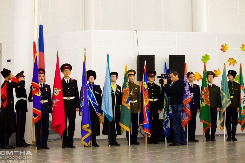 Казачата Терского войска приняли участие во Всероссийских соревнованиях в Анапе