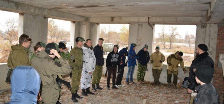Игра в страйкбол объединила казачат трех поселений Нефтекумья