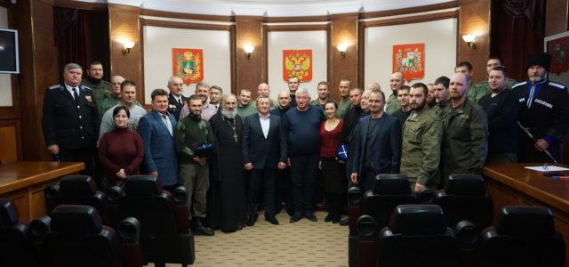 Встреча мэра с казаками – площадка для дальнейших действий