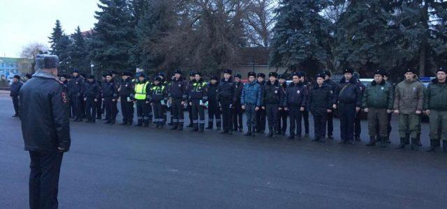 В новогодние праздники на Ставрополье работали казачьи дружины