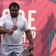 «Золото» чемпионата Европы по пауэрлифтингу завоевал ставропольский казак Александр Зайцев