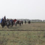 Терцы пройдут на лошадях по маршруту боевого пути курсантов Новочеркасского кавалерийского училища в 1942 году