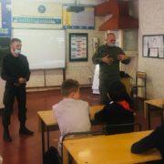 Казаки Ставрополя рассказали о Куликовской битве школьникам села Татарка