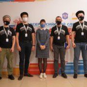 Казаки Терского войска на Всероссийском слете казачьей молодежи
