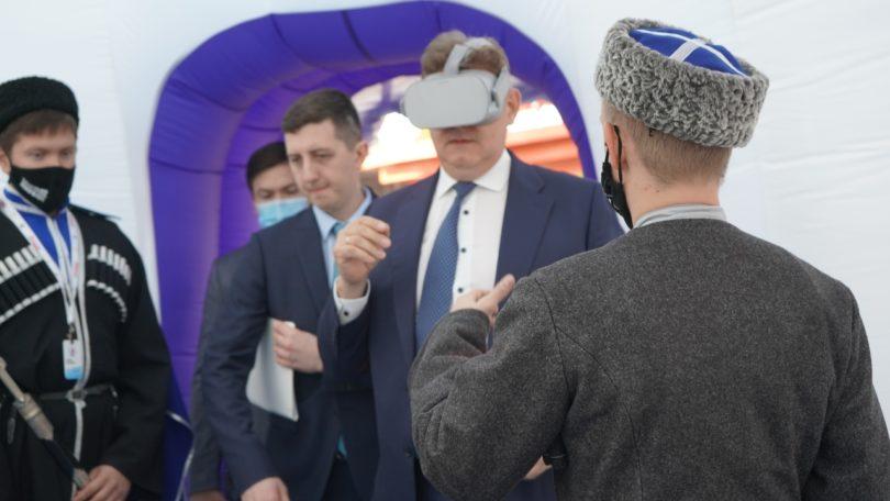 Помощник президента России Анатолий Серышев высоко оценил Мультимедийный музей ставропольских казаков