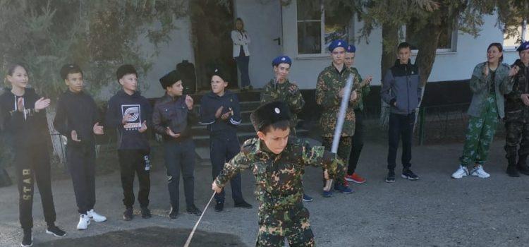 Районные казачьи соревнования по многоборью среди молодежи прошли в Благодарном