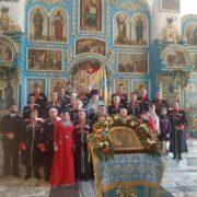 В день Покрова Пресвятой Богородицы и 195-летия города невинномысские казаки приняли присягу