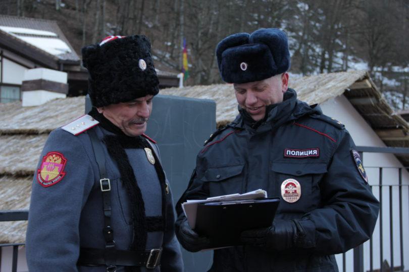 Территориальные органы полиции перейдут в новый формат взаимодействия с казачьими обществами