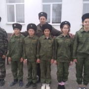 В школе села Шишкино провели казачий День здоровья
