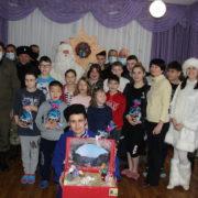 В Арзгирском округе казаки устроили рождественский праздник для земляков