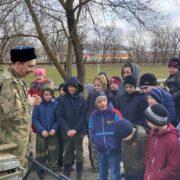 В селе Левокумском прошли казачьи спортивные военно-патриотические  сборы