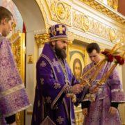 Десятилетие Пятигорской епархии отпраздновали торжественным богослужением
