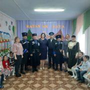 «Казачий урок» для детсадовцев прошёл в селе Ростовановском Курского муниципального округа