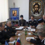 Совет атаманов прошел в Кизлярском особом приграничном окружном казачьем обществе