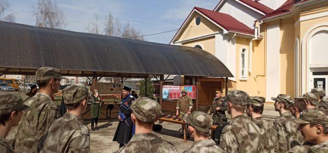 В Михайловске открылся военно-патриотический православный клуб «Казачий стан»