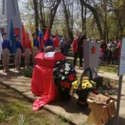 В селе Кара-Тюбе захоронили останки участника Великой Отечественной войны