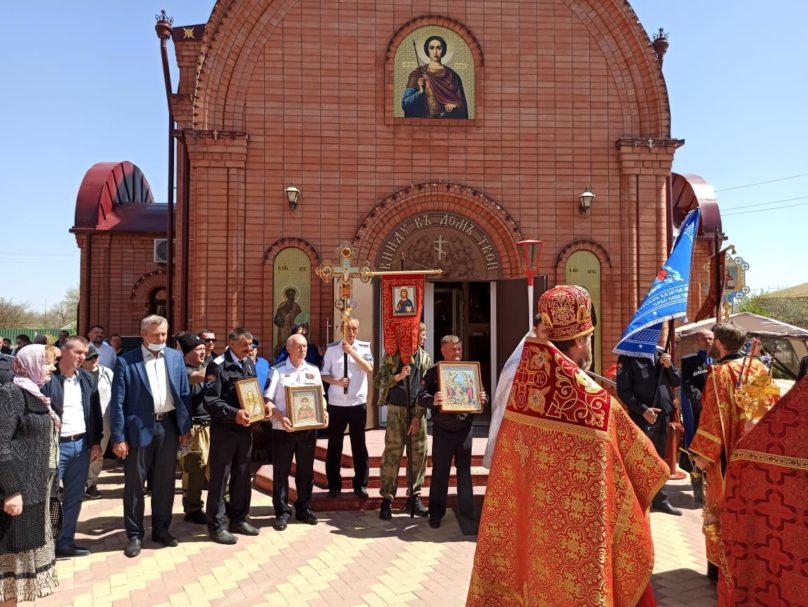 Пасхальный фестиваль по казачьим традициям прошёл в селе Петропавловском