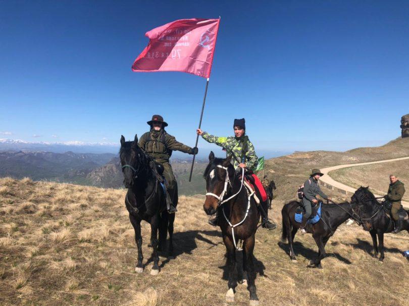 Казаки Горячеводской общины стали участниками конного перехода по местам сражений Битвы за Кавказ