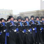 Казаки Ставропольского казачьего округа приняли участие в краевом Параде Победы