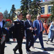 В престольном торжестве Георгиевского собора принял участие атаман ТВКО Виталий Кузнецов