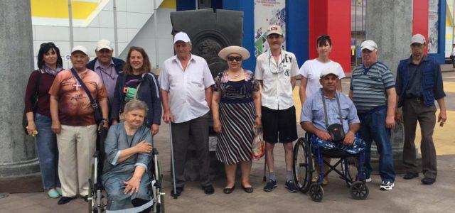 С казачьим Ставрополем познакомились подопечные Светлоградского дома-интерната для престарелых и инвалидов