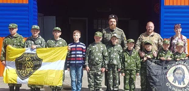 Для михайловских казачат провели экскурсию по пожарно-спасательной части
