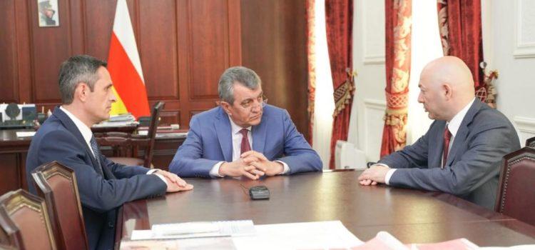 Сергей Меняйло и Виталий Кузнецов обсудили вопросы развития казачества в Северной Осетии