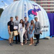 Мобильный мультимедийный музей истории казачества презентовали на Молодёжном форуме в Астраханской области