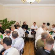 На совете атаманов ТВКО обсудили развитие строящегося казачьего войскового кадетского корпуса