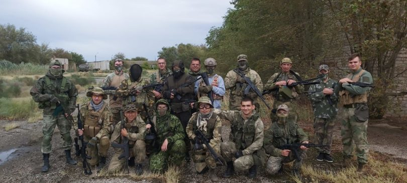 Левокумские казаки поучаствовали в акции «Терроризму-нет!»