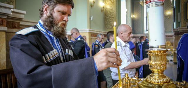 День Терского казачьего войска отметили молитвой в храмах Северного Кавказа и Москвы