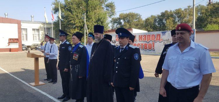Атаман Терского войска поздравил с Днем знаний учащихся Буденновского кадетского корпуса