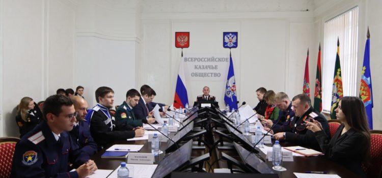 Терцы приняли участие в совещании совета Союза казачьей молодежи России
