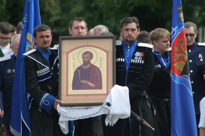 Терцев поздравили с годовщиной войскового старшинства