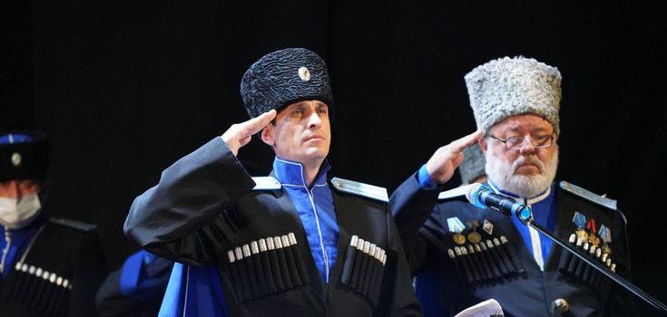 Атаман ТВКО Виталий Кузнецов отчитался о проделанной работе за год